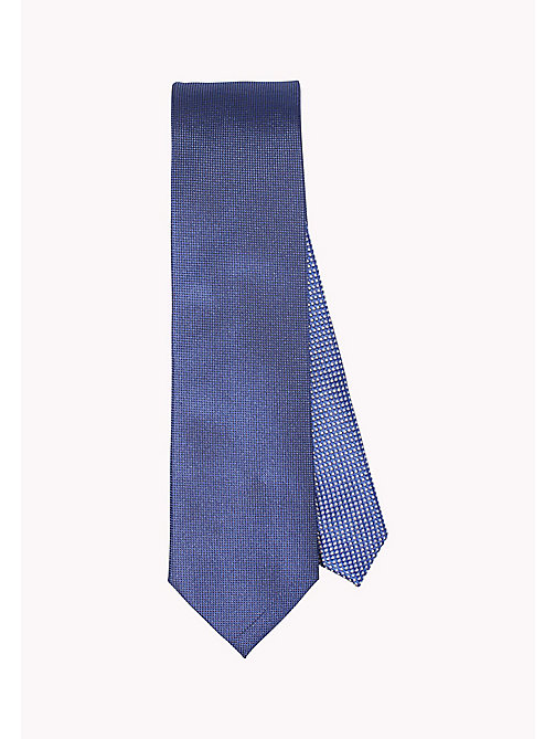 TOMMY HILFIGER SILK OXFORD 7CM TIE - 414? 414 - TOMMY HILFIGER Ties & Pocket Squares - main image