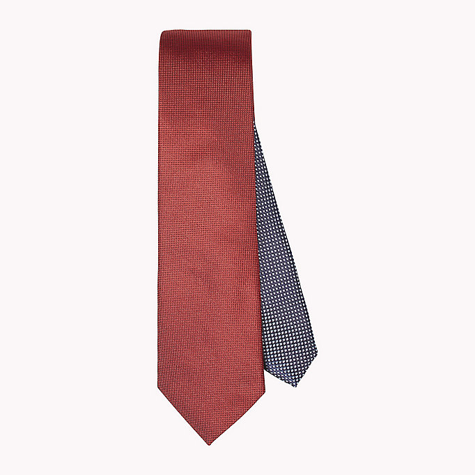 TOMMY HILFIGER Silk Oxford Tie - 099? 099 - TOMMY HILFIGER Men - main image