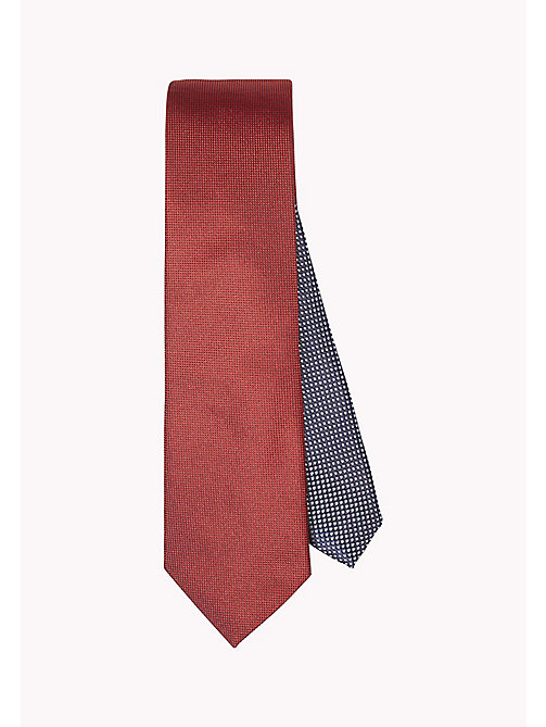 TOMMY HILFIGER SILK OXFORD 7CM TIE - 615? 615 - TOMMY HILFIGER Ties & Pocket Squares - main image