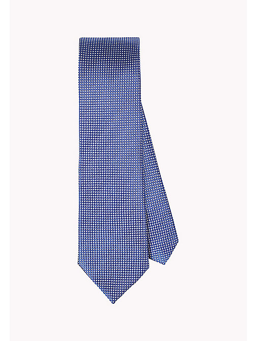 TOMMY HILFIGER Pure Silk Micro Design Tie - 414? 414 - TOMMY HILFIGER Ties & Pocket Squares - main image