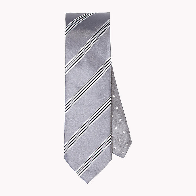 TOMMY HILFIGER Stripe Silk Tie - 428 - TOMMY HILFIGER Clothing - main image