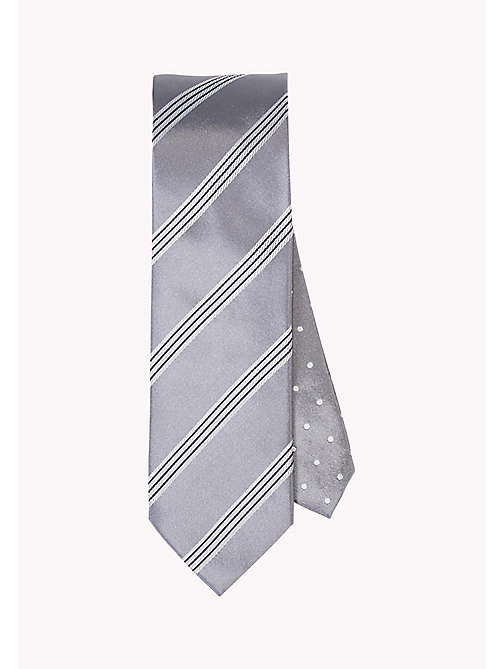 TOMMY HILFIGER Stripe Silk Tie - 005? 005 - TOMMY HILFIGER Bags & Accessories - main image