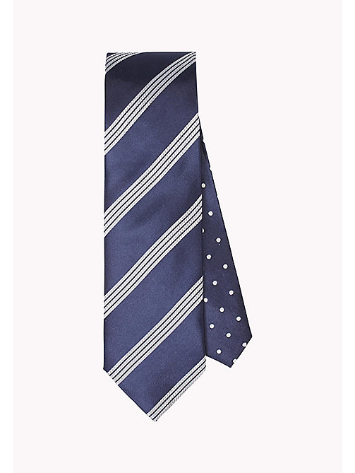 TOMMY HILFIGER Stripe Silk Tie - 428 - TOMMY HILFIGER Ties & Pocket Squares - main image