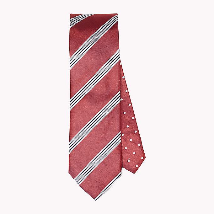 TOMMY HILFIGER Stripe Silk Tie - 005? 005 - TOMMY HILFIGER Men - main image