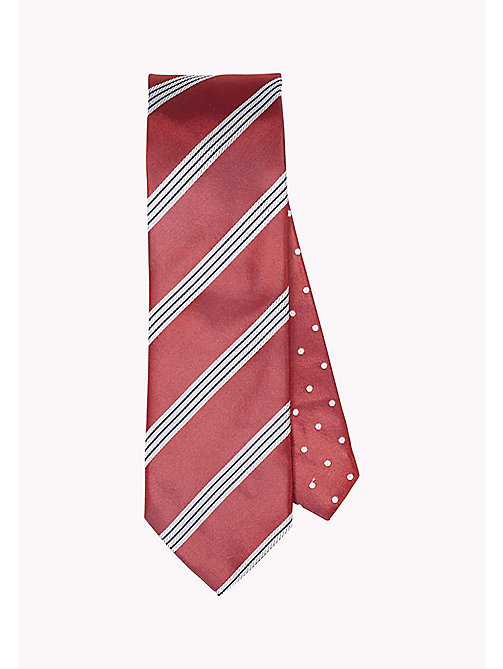TOMMY HILFIGER Stripe Silk Tie - 615? 615 - TOMMY HILFIGER Ties & Pocket Squares - main image