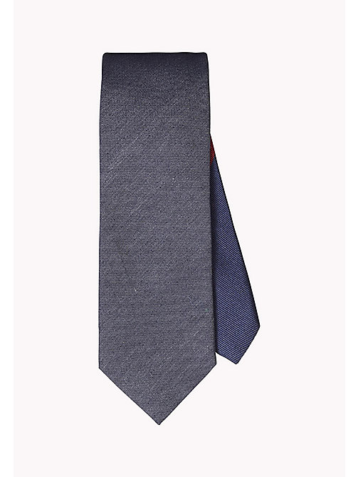 TOMMY HILFIGER Silk Blend Twill Tie - 425 - TOMMY HILFIGER Ties & Pocket Squares - main image