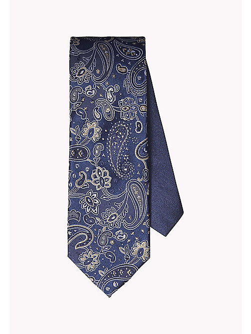 TOMMY HILFIGER Floral Paisley Silk Tie - 210 - TOMMY HILFIGER Ties & Pocket Squares - main image