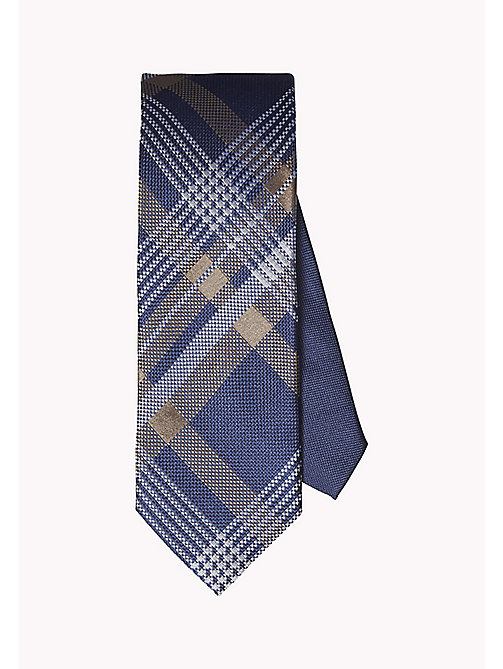 TOMMY HILFIGER Plaid Silk Tie - 201 - TOMMY HILFIGER Ties & Pocket Squares - main image