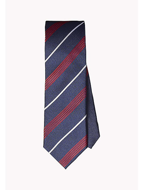 TOMMY HILFIGER Stripe Silk Tie - 425 - TOMMY HILFIGER Ties & Pocket Squares - main image