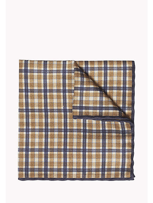 TOMMY HILFIGER Cotton Silk Pocket Square - 804 - TOMMY HILFIGER Ties & Pocket Squares - main image
