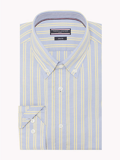 TOMMY HILFIGER Double Stripe Cotton Shirt - 417 - TOMMY HILFIGER Suits & Tailored - detail image 1