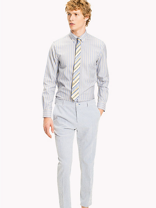 TOMMY HILFIGER Double Stripe Cotton Shirt - 417 - TOMMY HILFIGER Suits & Tailored - main image