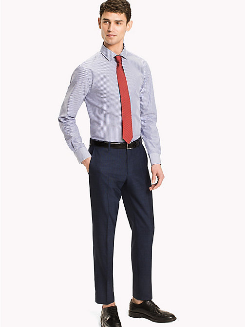 TOMMY HILFIGER Stripe Slim Fit Shirt - 104 - TOMMY HILFIGER Formal Shirts - main image