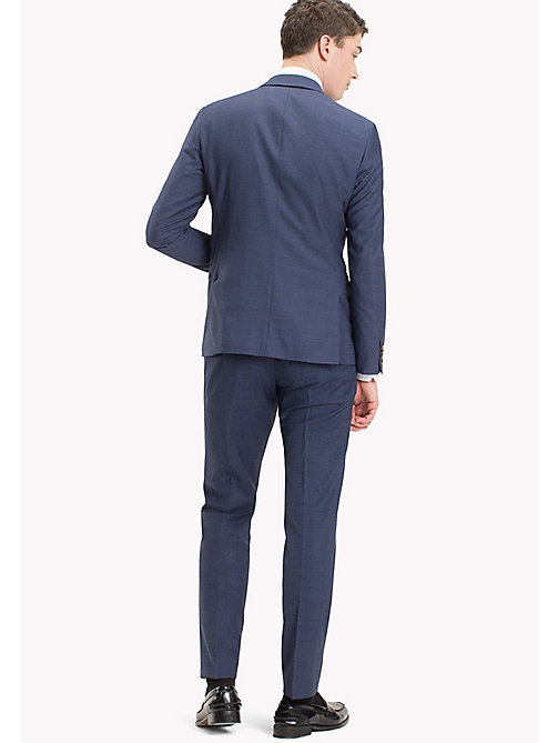 TOMMY HILFIGER Micro Check Pure Wool Suit - 420 - TOMMY HILFIGER New arrivals - detail image 1