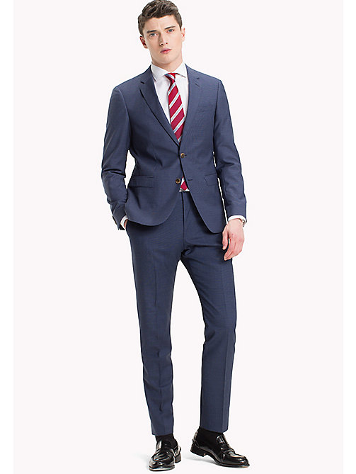 TOMMY HILFIGER Micro Check Pure Wool Suit - 420 - TOMMY HILFIGER Suits - main image