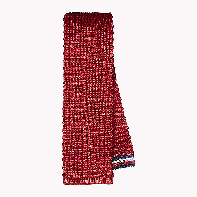 TOMMY HILFIGER Knitted Silk Tie - 428 - TOMMY HILFIGER Men - main image