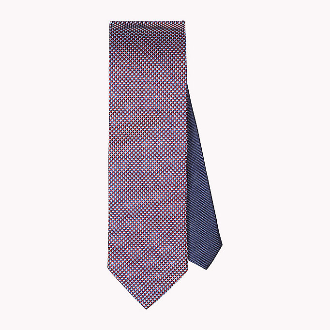 TOMMY HILFIGER Silk Geometric Tie - 428? 428 - TOMMY HILFIGER Men - main image