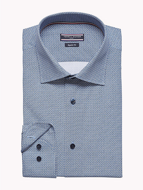 TOMMY HILFIGER Geometric Print Shirt - 424 - TOMMY HILFIGER Formal Shirts - detail image 1