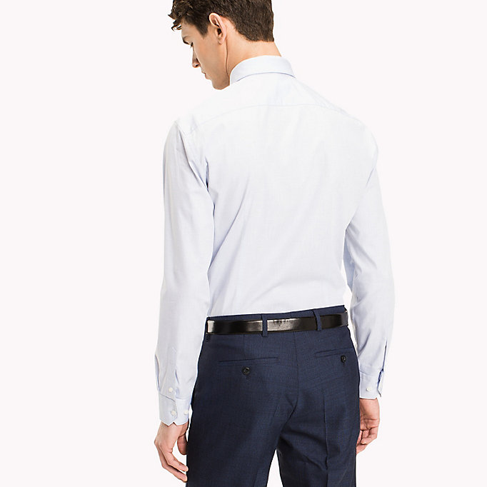 TOMMY HILFIGER Cotton Slim Fit Shirt - 612 - TOMMY HILFIGER Clothing - detail image 2