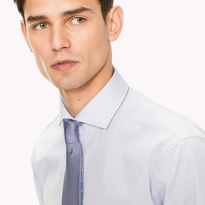 TOMMY HILFIGER Cotton Slim Fit Shirt - 612 - TOMMY HILFIGER Clothing - detail image 3