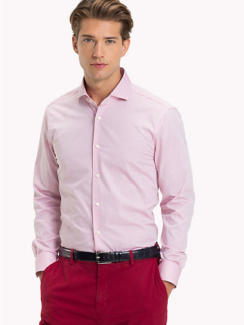 TOMMY HILFIGER Slim Fit Shirt aus Baumwolle - 612 - TOMMY HILFIGER Businesshemden - main image