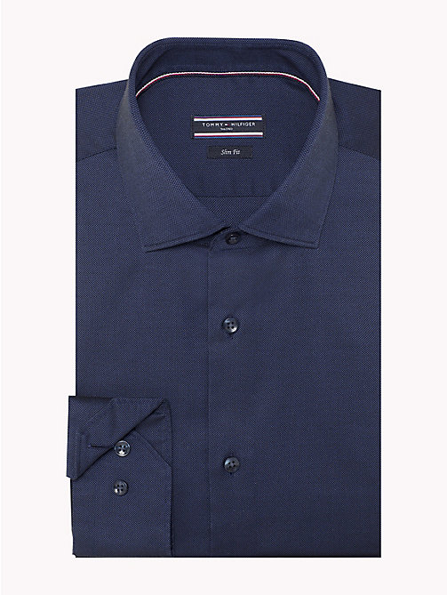 TOMMY HILFIGER Bügelleichtes Slim Fit Shirt - 429 - TOMMY HILFIGER Businesshemden - main image 1