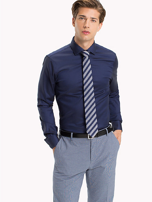 TOMMY HILFIGER Bügelleichtes Slim Fit Shirt - 429 - TOMMY HILFIGER Businesshemden - main image