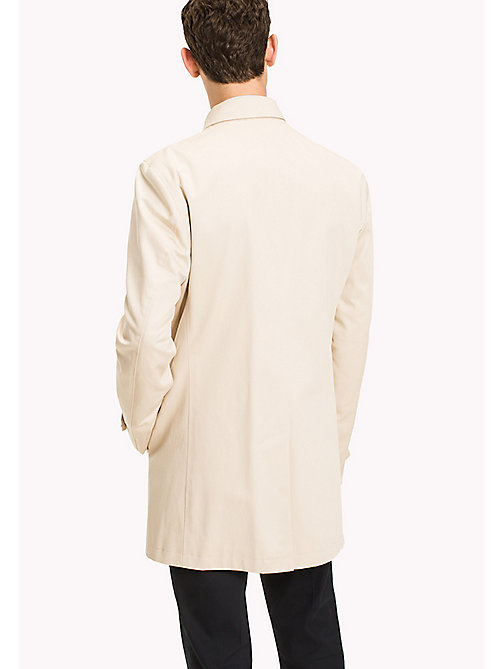 TOMMY HILFIGER Pure Cotton Tailored Coat - 201 - TOMMY HILFIGER Men - detail image 1