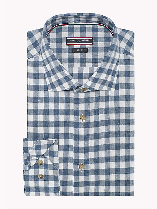 TOMMY HILFIGER Gingham Slim Fit Shirt - 413 - TOMMY HILFIGER Suits & Tailored - detail image 1