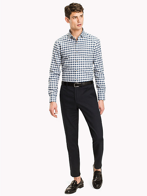 TOMMY HILFIGER Gingham Slim Fit Shirt - 413 - TOMMY HILFIGER Suits & Tailored - main image