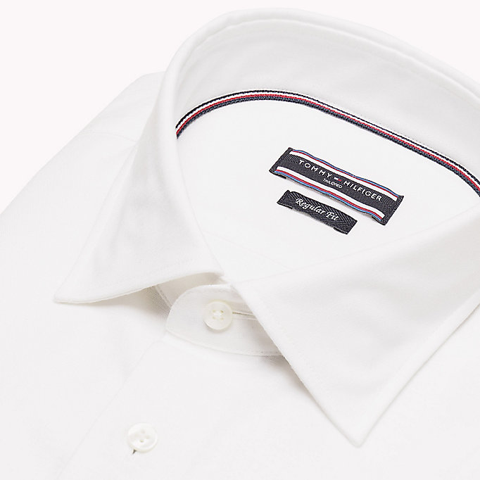 TOMMY HILFIGER Regular Fit Linen Shirt - 412 - TOMMY HILFIGER Men - detail image 4