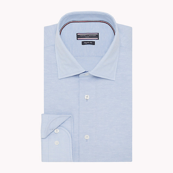 TOMMY HILFIGER Regular Fit Linen Shirt - 423 - TOMMY HILFIGER Men - detail image 1