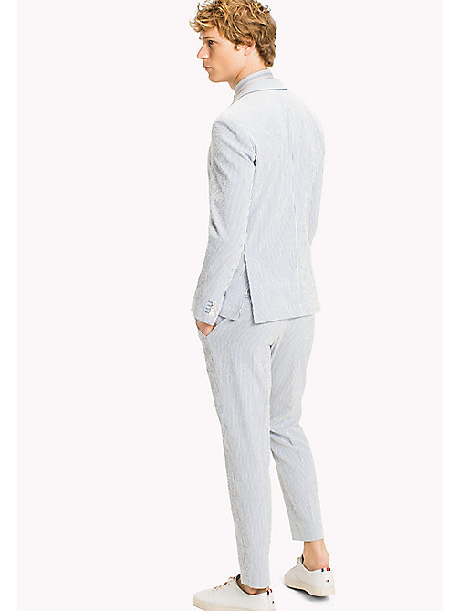 TOMMY HILFIGER Slim Fit Micro Stripe Blazer - 415 - TOMMY HILFIGER Suits & Tailored - detail image 1