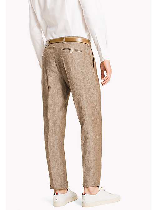 TOMMY HILFIGER Linen Trousers - 205 - TOMMY HILFIGER What to Wear - detail image 1