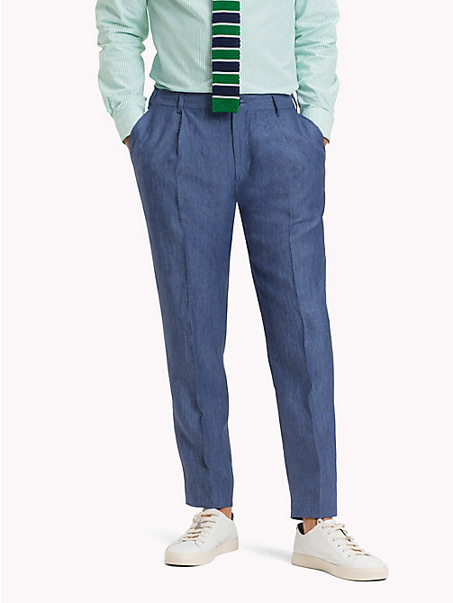 TOMMY HILFIGER Linen Trousers - 420 - TOMMY HILFIGER What to Wear - main image