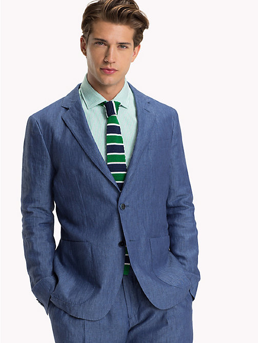 TOMMY HILFIGER Casual Slim Fit Blazer - 420 - TOMMY HILFIGER Vacation Style - main image