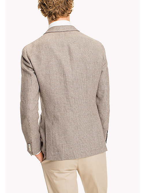 TOMMY HILFIGER Slim Fit Cotton Linen Blazer - 210 - TOMMY HILFIGER Suits & Tailored - detail image 1