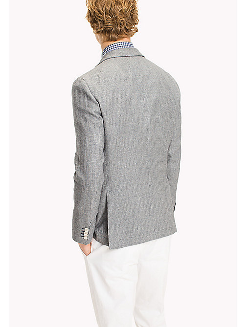 TOMMY HILFIGER Slim Fit Cotton Linen Blazer - 418 - TOMMY HILFIGER Suits & Tailored - detail image 1