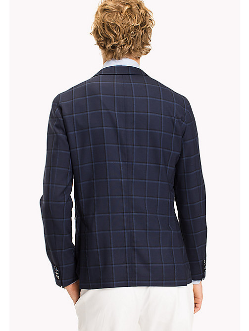 TOMMY HILFIGER Slim Fit Plaid Blazer - 427 - TOMMY HILFIGER What to Wear - detail image 1