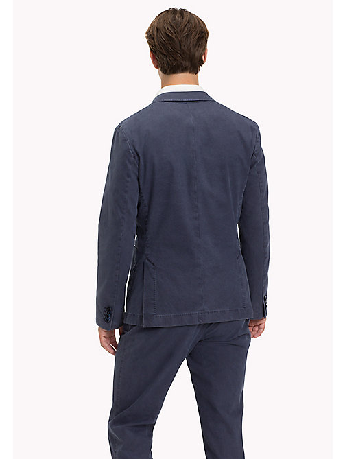 TOMMY HILFIGER Cotton Slim Fit Blazer - 425 - TOMMY HILFIGER Suits & Tailored - detail image 1