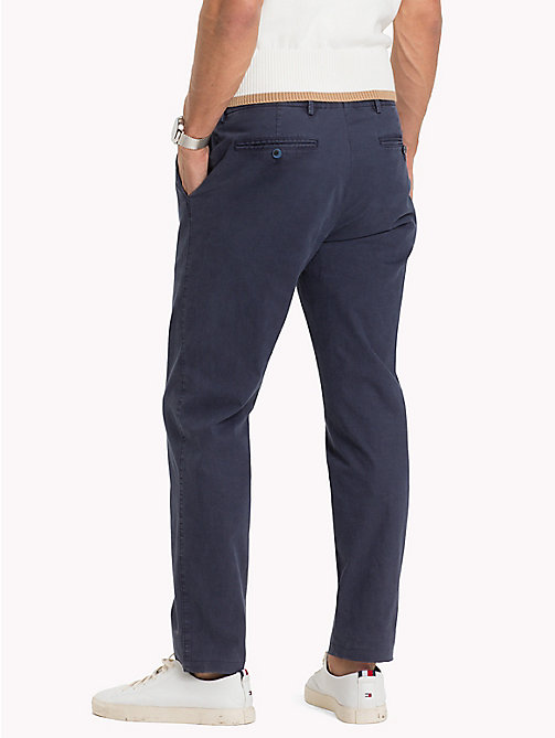 TOMMY HILFIGER Tailored Slim Fit Trousers - 425 - TOMMY HILFIGER Trousers - detail image 1