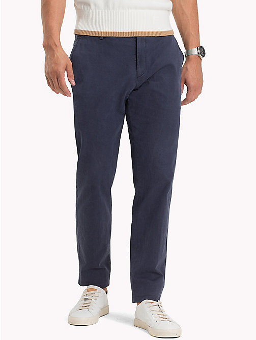TOMMY HILFIGER Tailored Slim Fit Trousers - 425 - TOMMY HILFIGER Trousers - main image
