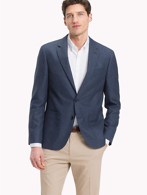 TOMMY HILFIGER Fitted Suit Separate Blazer - 424 - TOMMY HILFIGER Clothing - main image