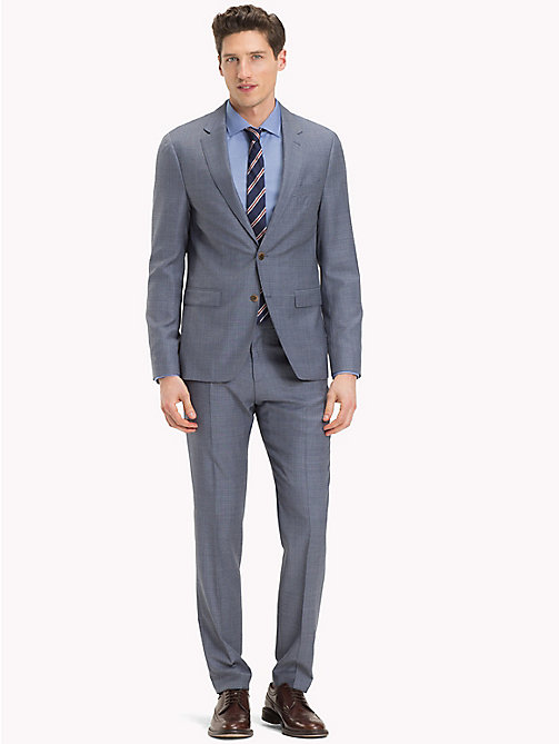 TOMMY HILFIGER Slim Fit Wool Suit - 418 - TOMMY HILFIGER Clothing - main image