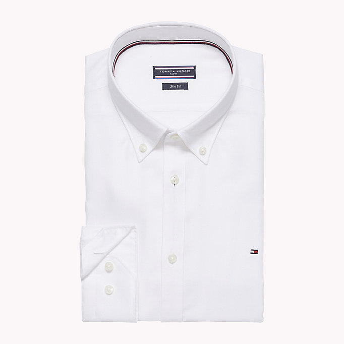 TOMMY HILFIGER Oxford Slim Fit Hemd -  - TOMMY HILFIGER Businesshemden - main image 1
