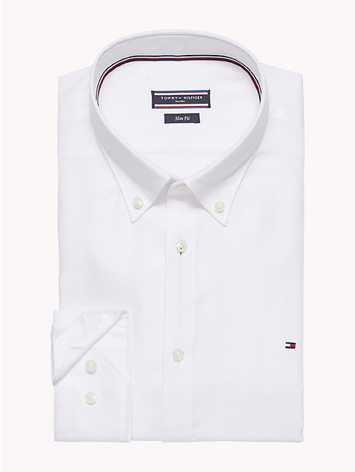TOMMY HILFIGER Oxford Slim Fit Hemd - 100 - TOMMY HILFIGER Businesshemden - main image 1