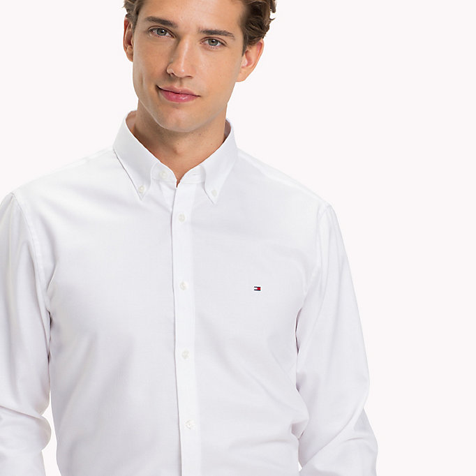 TOMMY HILFIGER Oxford Slim Fit Hemd -  - TOMMY HILFIGER Businesshemden - main image 3