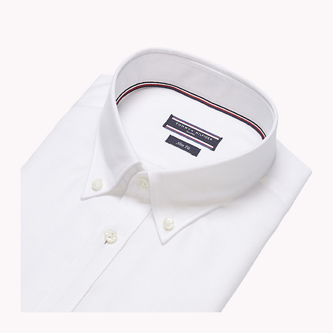 TOMMY HILFIGER Oxford Slim Fit Hemd -  - TOMMY HILFIGER Businesshemden - main image 4