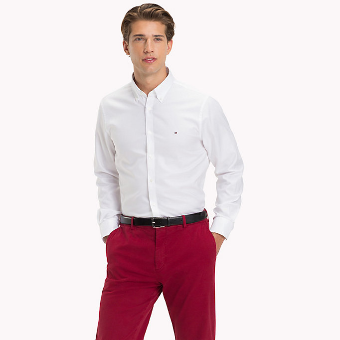 TOMMY HILFIGER Oxford Slim Fit Hemd -  - TOMMY HILFIGER Businesshemden - main image