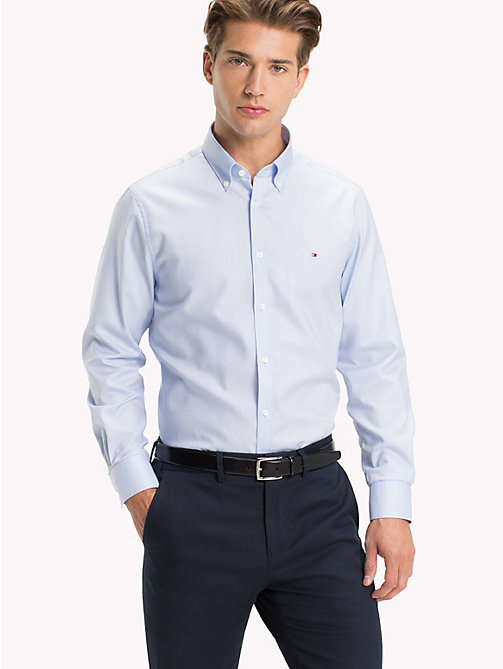 TOMMY HILFIGER Oxford Slim Fit Hemd - 410 - TOMMY HILFIGER Businesshemden - main image